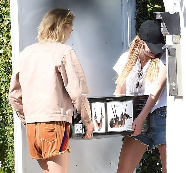 Cara Delevingne and Ashley Benson's $450 Leather Sex Bench Has Already Won Pride - GARAGE