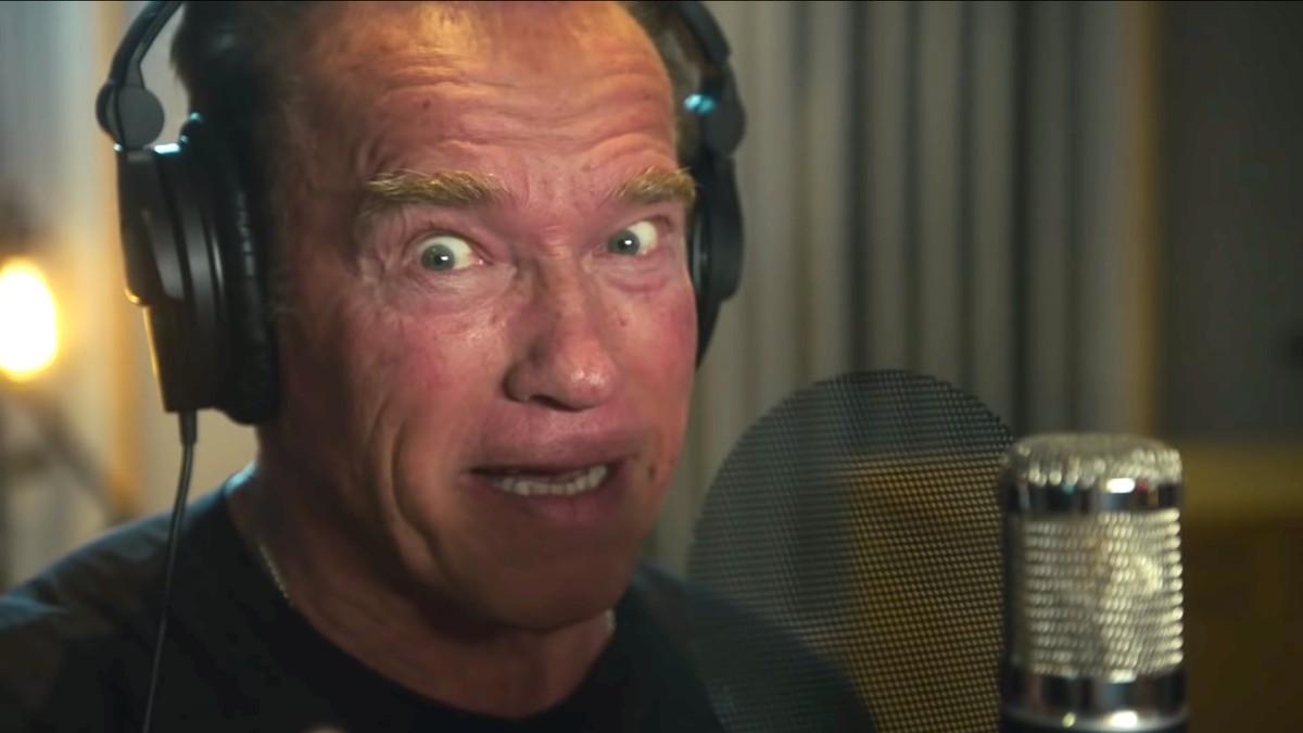 Arnold Schwarzenegger Made a Rap Song and It... Actually ...