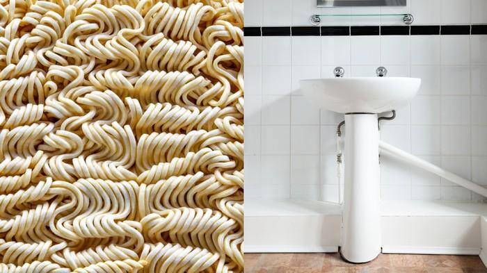 Peut-on vraiment réparer un évier avec des nouilles instantanées ?