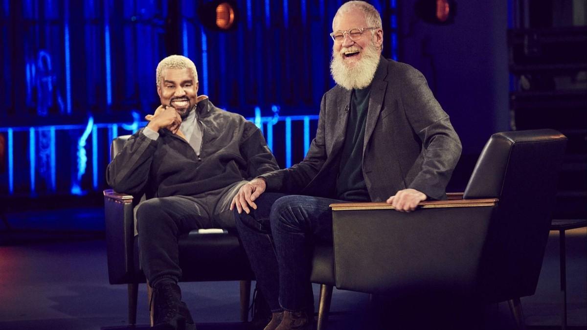 ca0e8a3611 L'intervista di Kanye West da David Letterman su Netflix