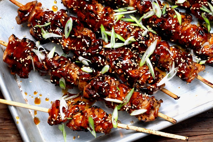 Grilled Sesame Chicken Skewers Recipe - VICE
