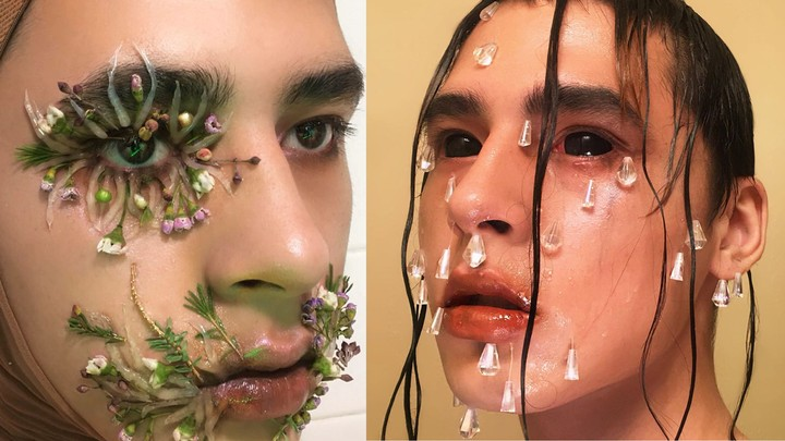 this 19-year-old takes make-up art to a whole new level - i-D