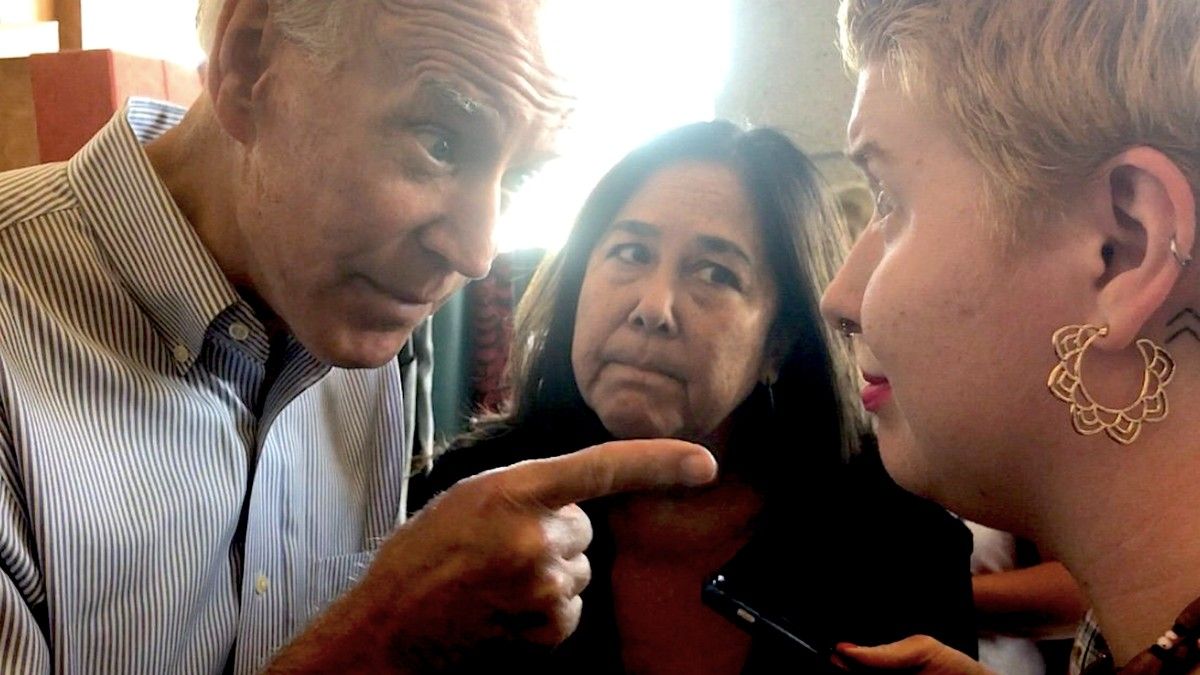 Joe Biden Wagged His Finger At Me When I Asked Him About Abortion
