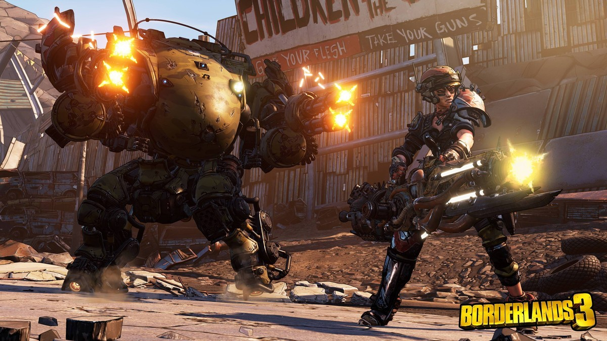 We Piloted Iron Bear, the New 'Borderlands 3' Character's Giant Mech
