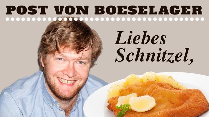 Post von Boeselager: Liebes Schnitzel! - VICE