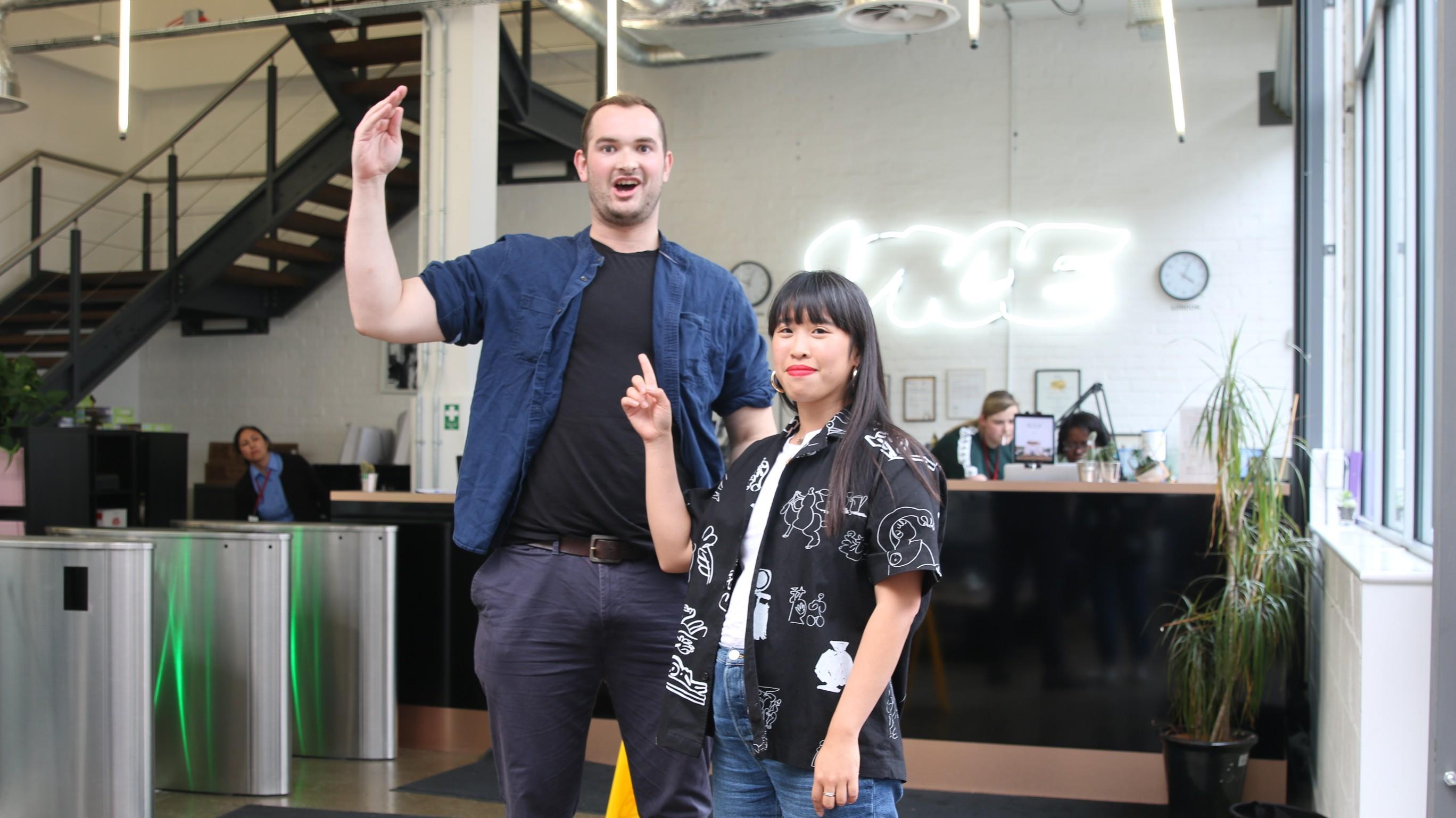 Frau viel größer als mann