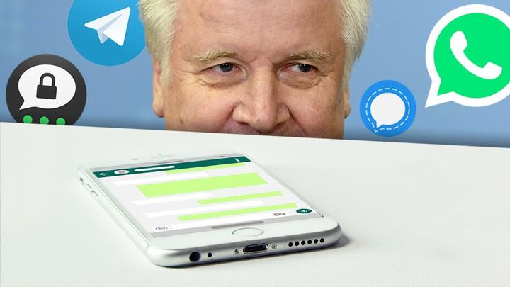 Seehofer will, dass die Polizei unsere Chats lesen kann: Machen WhatsApp und Co. da mit? - VICE