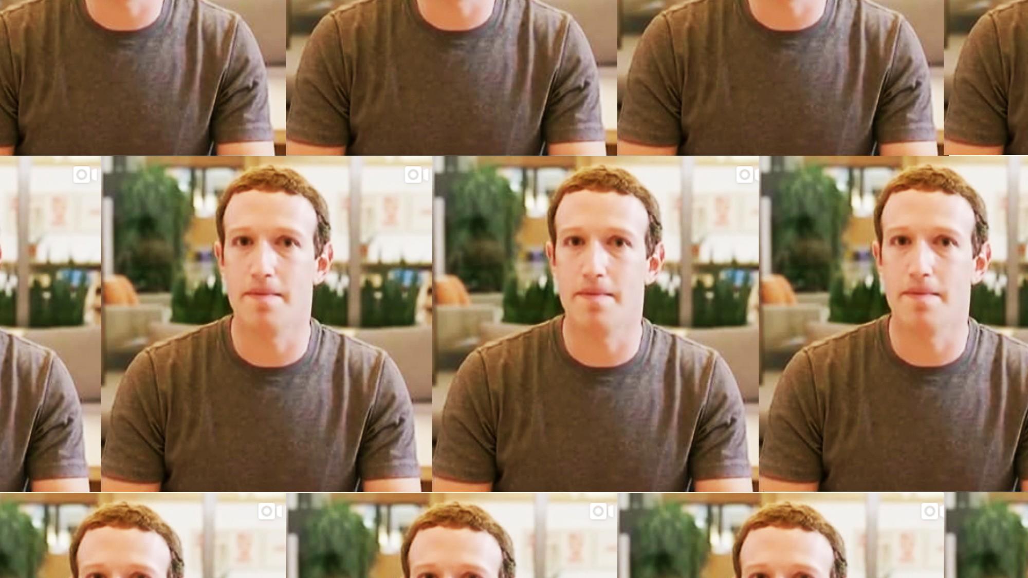 Resultado de imagen para deepfake Mark Zuckerberg.