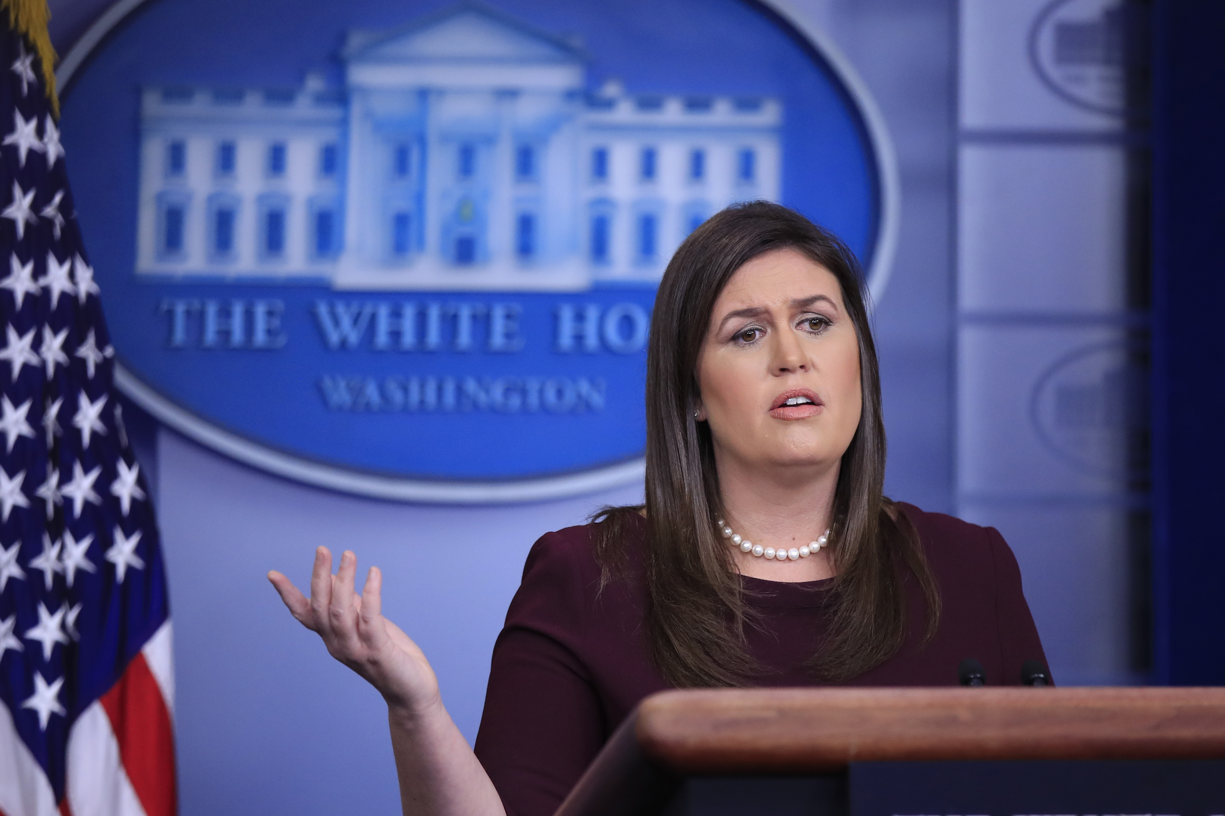9 Times Sarah Sanders Straight Up Lied to the Press