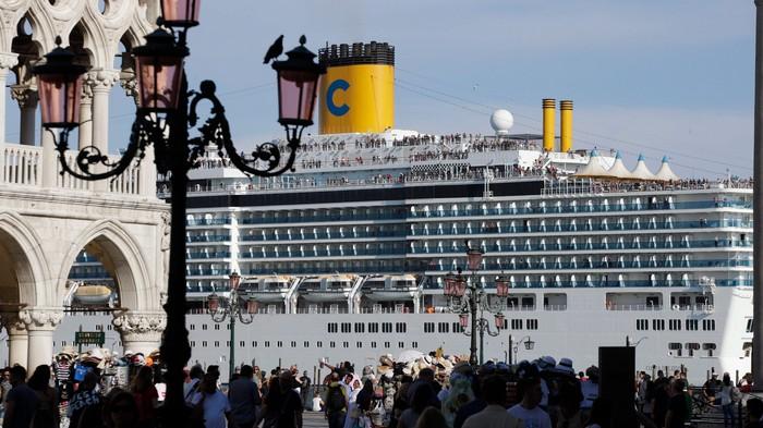 Cruiseschepen zijn catastrofaal voor het milieu
