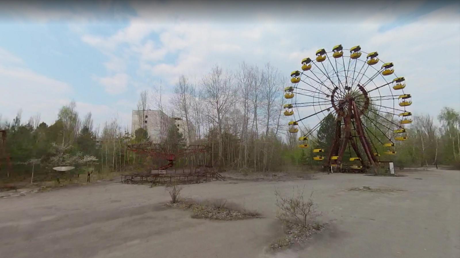 Il tour più inquietante di Chernobyl non è quello che fai andando lì di persona