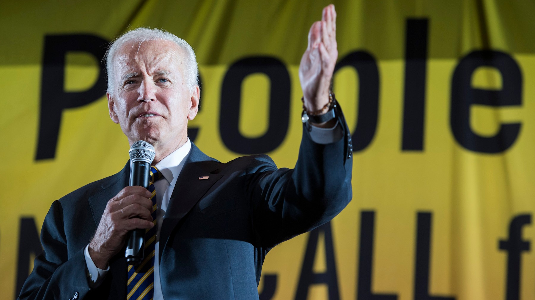Biden Says Hey Dems Let's Calm Down about the Whole Revolution Thing