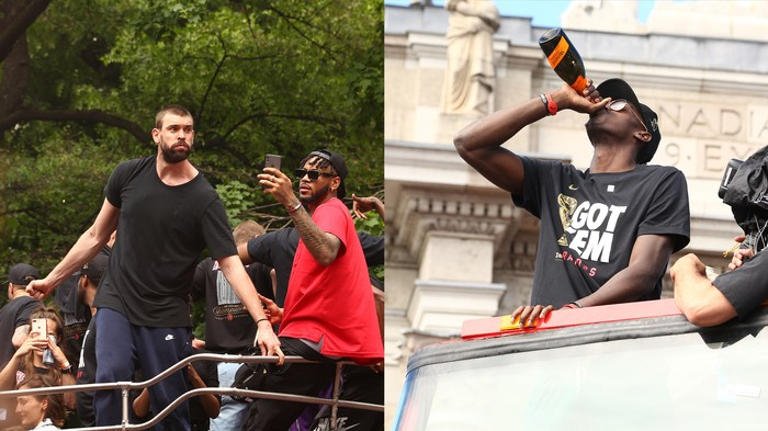 The 30 Best Things We Saw at the Toronto Raptors Parade
