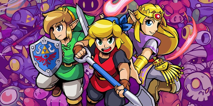 'Cadence of Hyrule' Remixes Classic Zelda Music with Roguelike Peril - VICE