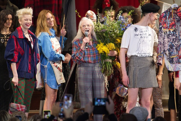 Vivienne Westwood in conversation with John Sauven - i-D