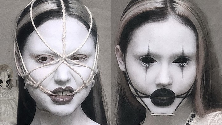 meet the artist whose eerie beauty looks are haunting instagram