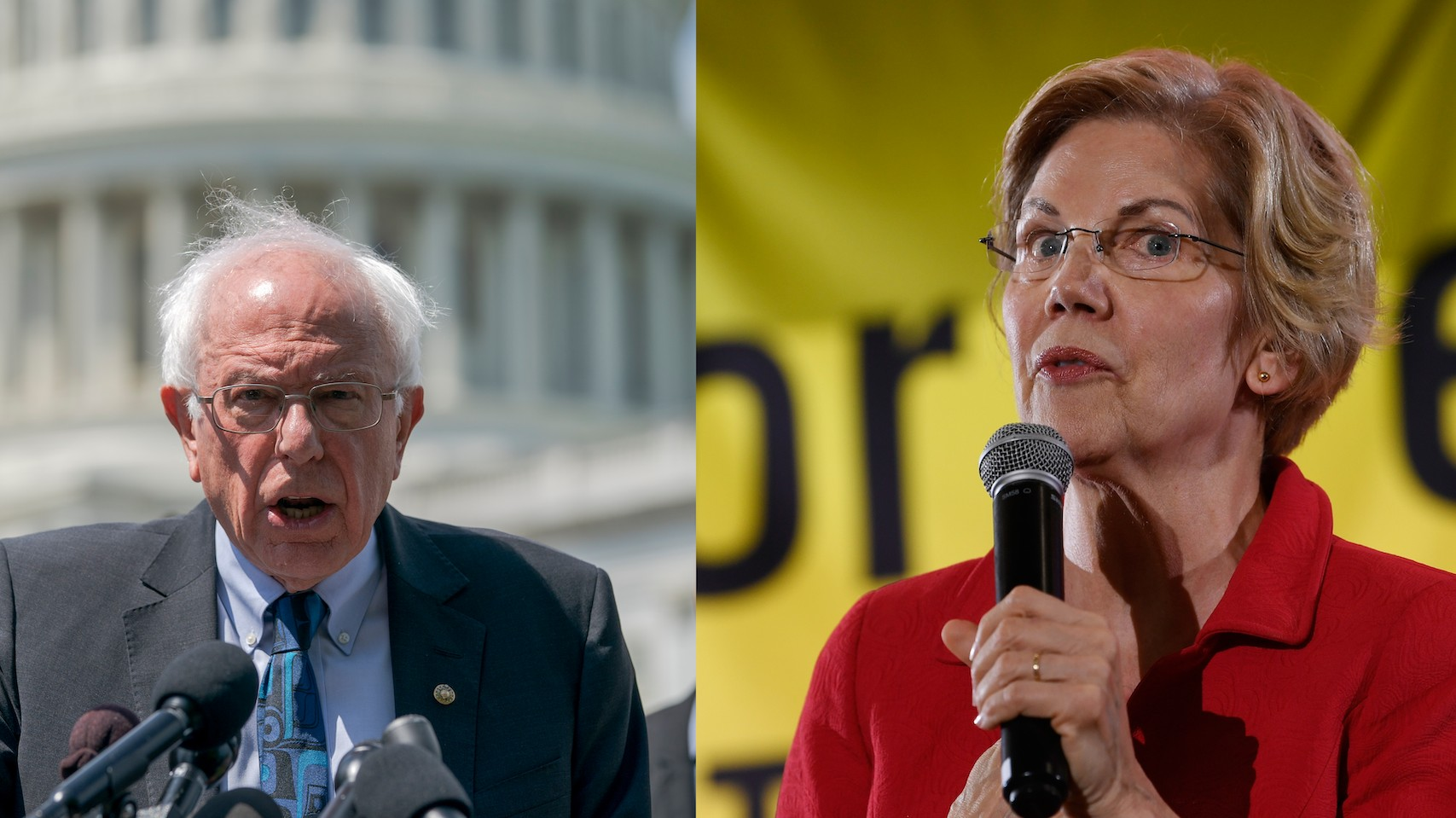 Who's More Left?: 4 Key Differences Between Bernie and Warren