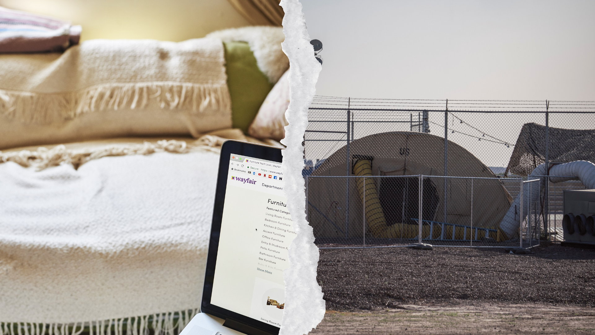 Wayfair Is Profiting From Immigration Detention, So Iu0027m Walking Out