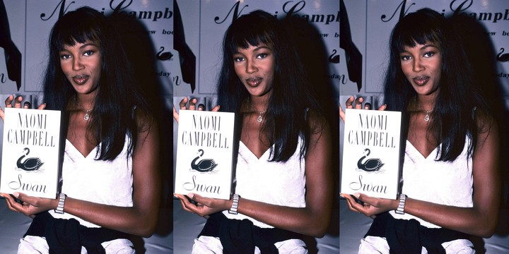 'Swan', Naomi Campbell's forgotten 90s novel - i-D