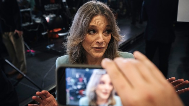 Marianne Williamson Knows You Think She's a Joke. But Her Campaign Isn't.
