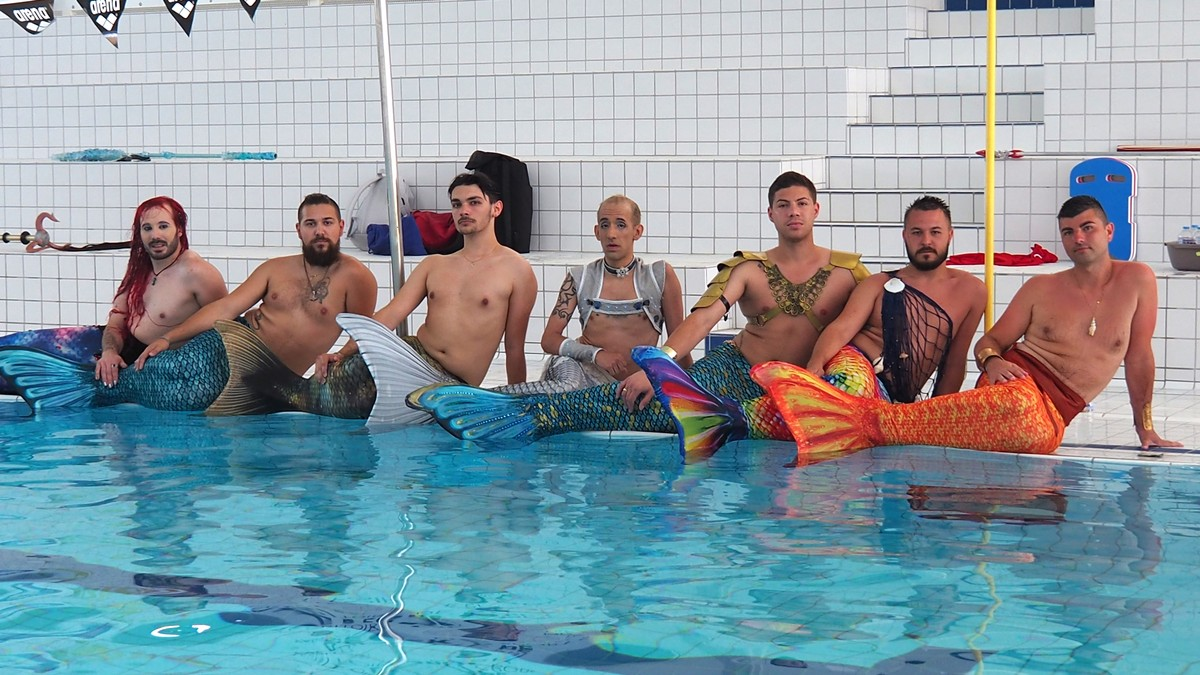 Inside France's First Mermen Competition