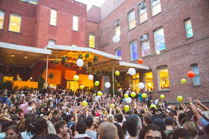 How 'Warm Up' at MoMA ps1 became NYC's best summer festival - i-D