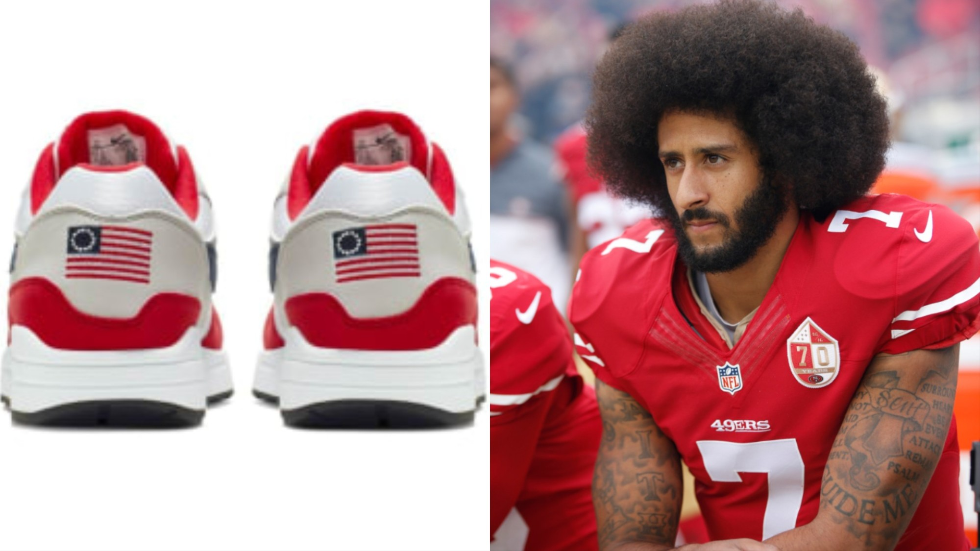 Colin Kaepernick and Nike Are Right, the Betsy Ross Flag Shouldn't