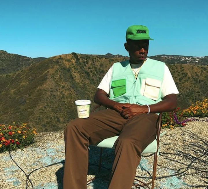 From the 'Cosmic Ether,' A Tyler, the Creator Ice Cream is Born - GARAGE