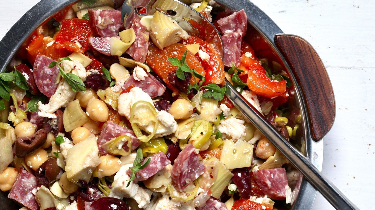 Easy Antipasti Salad Recipe - VICE