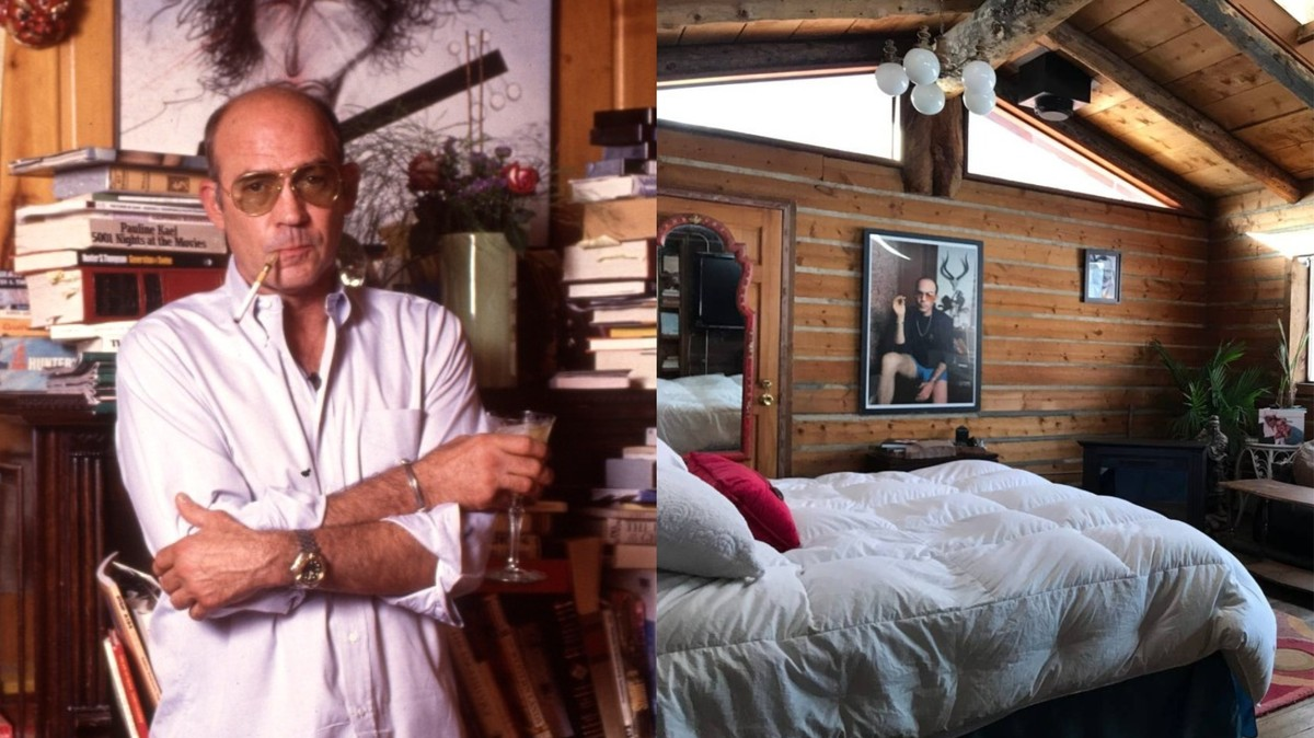 Airbnbing Hunter S. Thompson's Cabin Sounds Miserable and Also Terrifying
