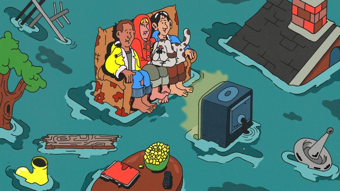 Climate Change Is Everywhere. Just Not on TV