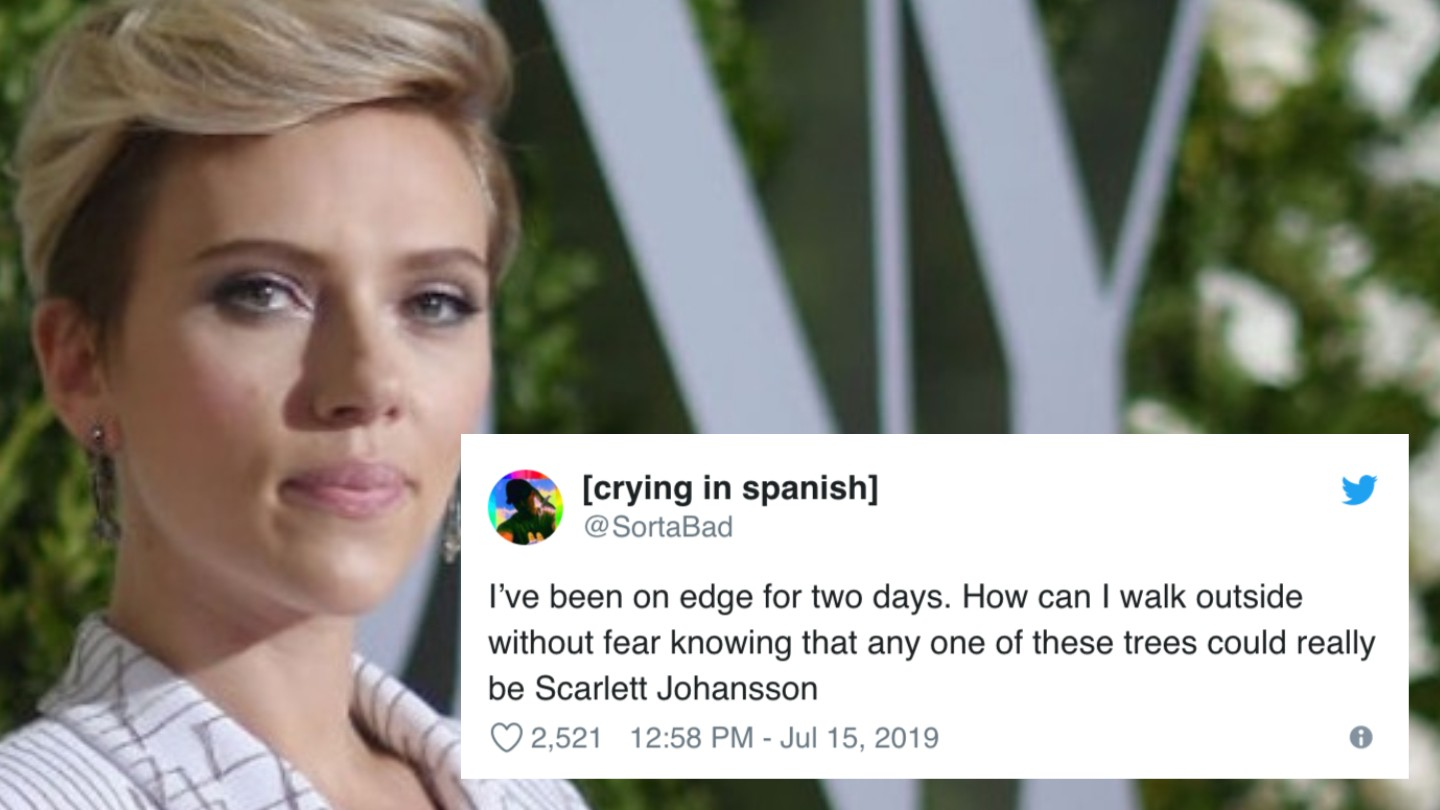 These Memes Highlight The Absurdity Of Scarjo S Comments About Playing Any Person