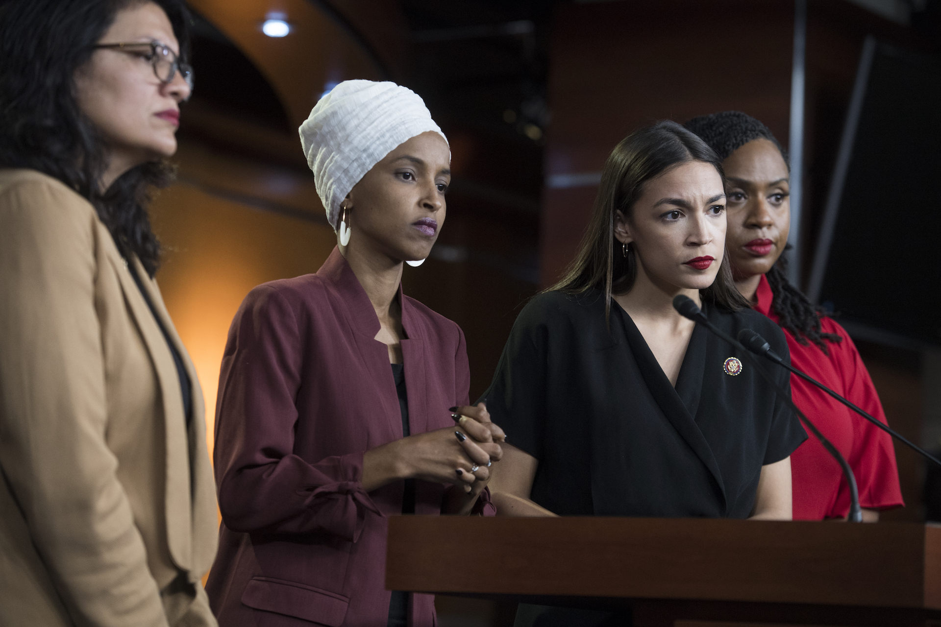 """Even Trump's Racist Attacks Can't Seem To Unify Pelosi and """"The Squad"""""""