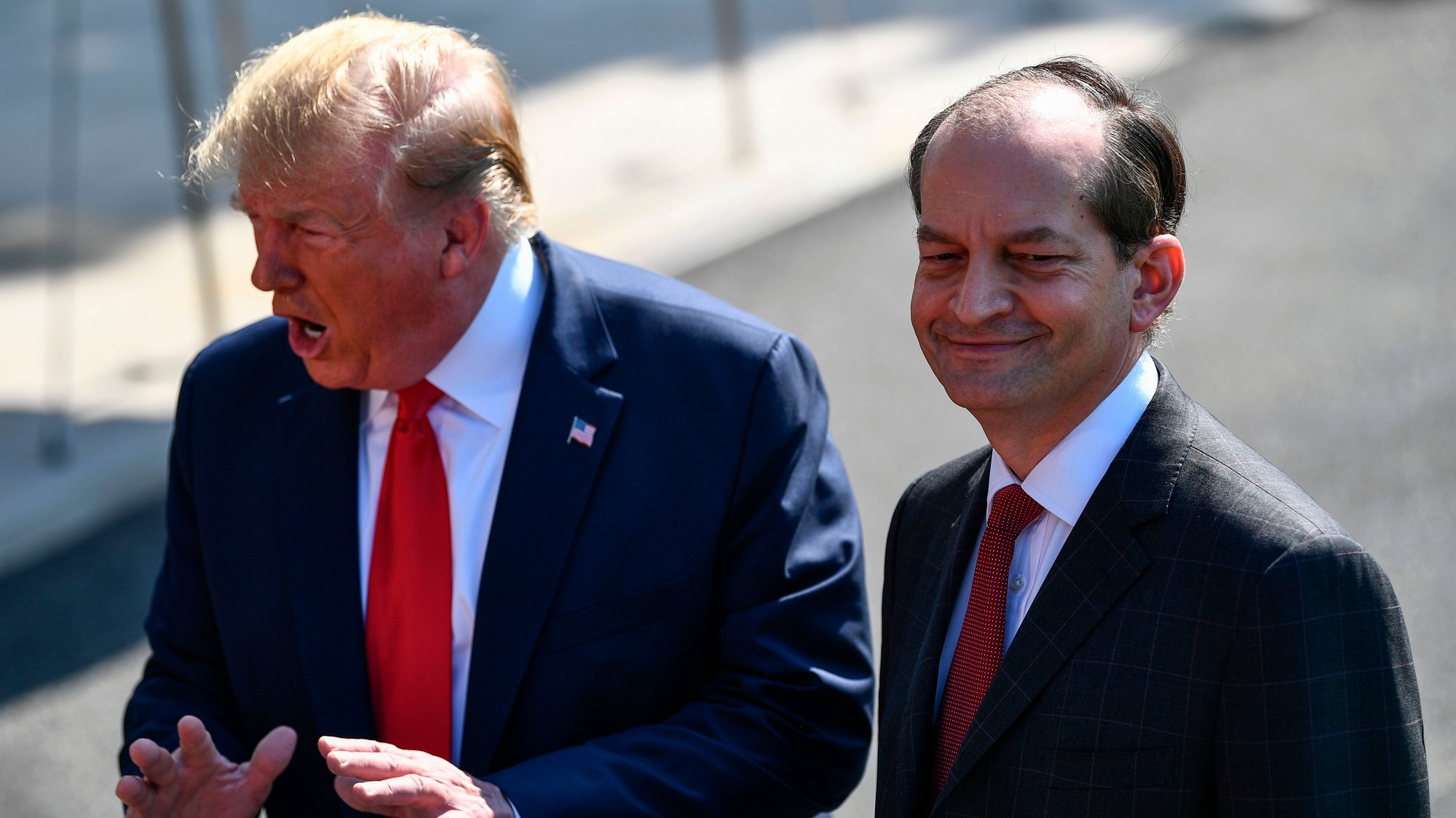 The Epstein Scandal Could Actually Help Alex Acosta Get Rich