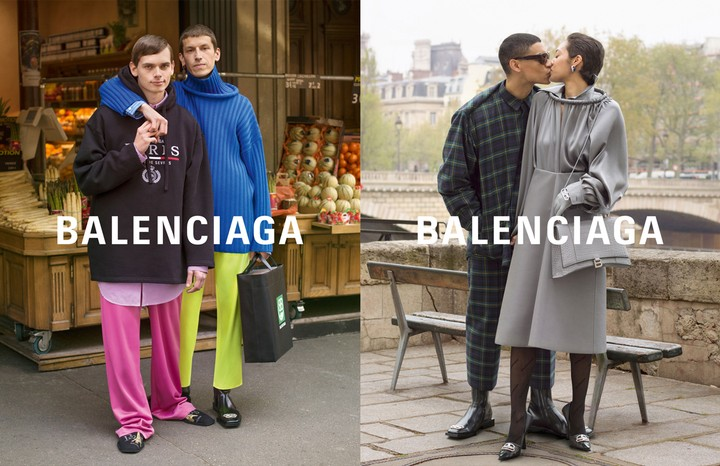 Take an exclusive first look at the new (and very romantic) Balenciaga campaign - i-D