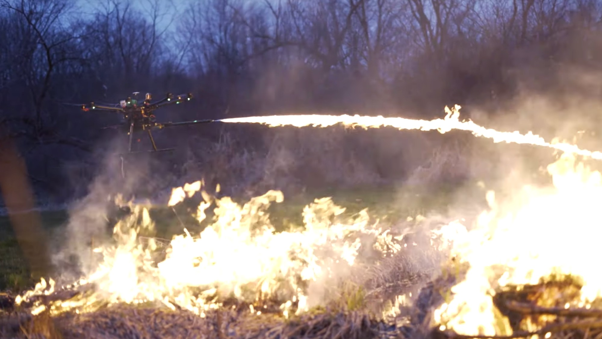 This Company Is Selling Drone-Mounted Flamethrowers to the
