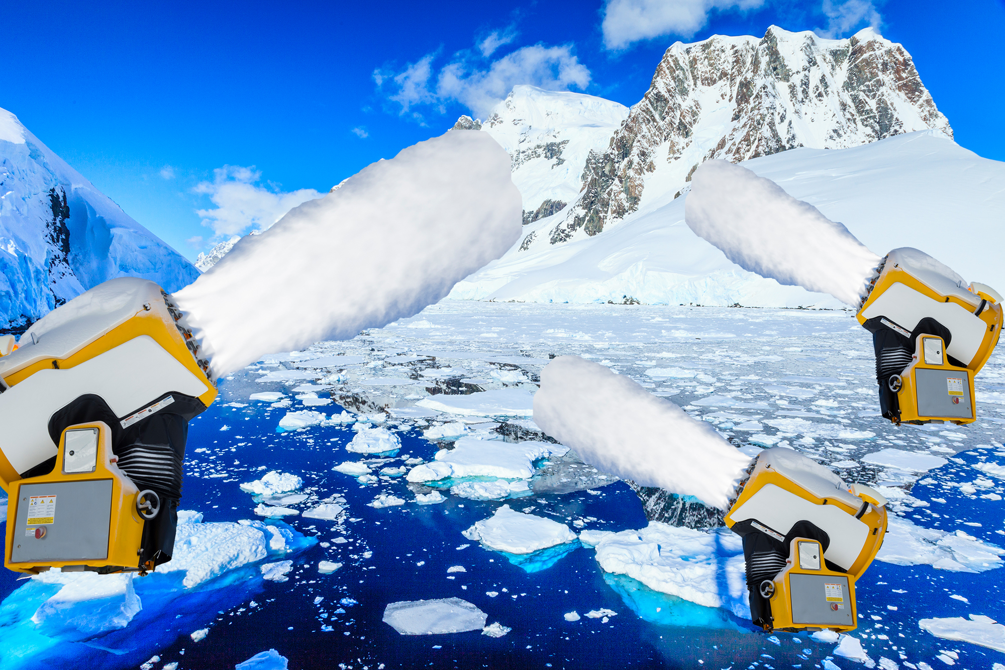 This Plan to Stop Sea Level Rise by Blasting Antarctica With Snow Is Extremely Wild