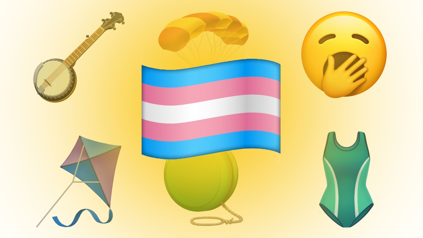 We Just Got 230 New Emojis, But Still No Trans Flag