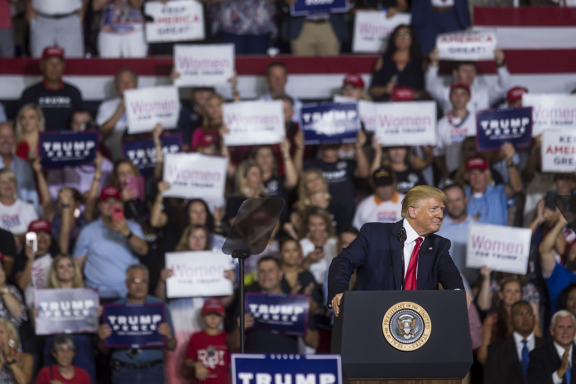 "Trump Rallies Have a Brand New Racist Chant: ""Send Her Back"""