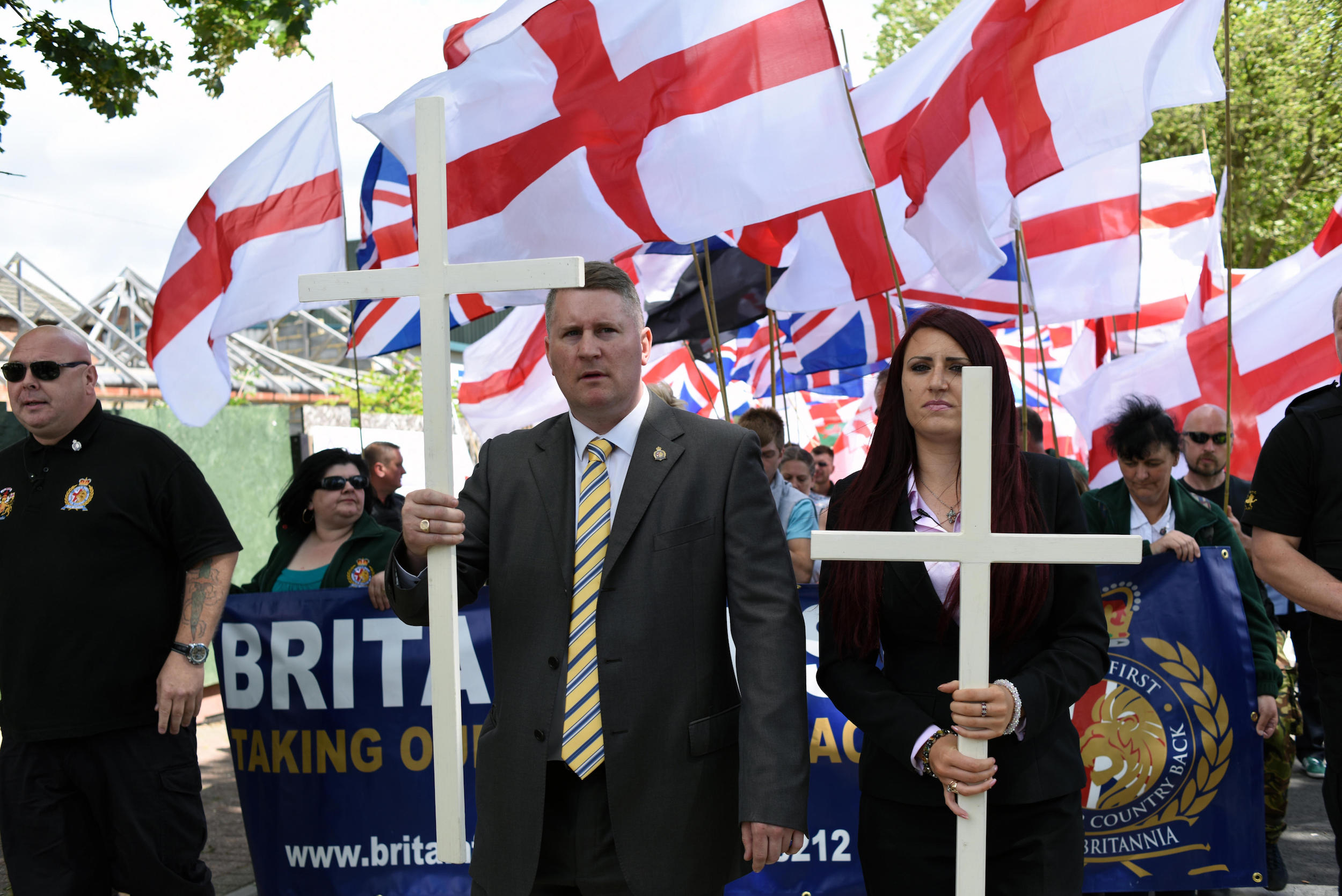Revealed: How Britain First Disguised the Source of a £200,000 Donation - VICE