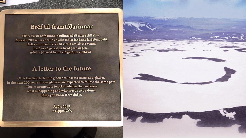 In Islanda, il primo ghiacciaio 'morto' per crisi climatica avrà un monumento funebre - VICE