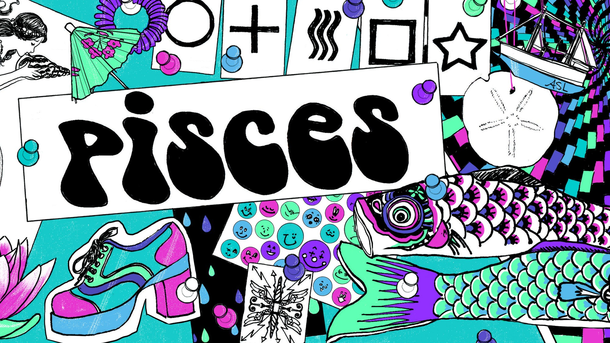 Monthly Horoscope: Pisces, August 2019 - VICE