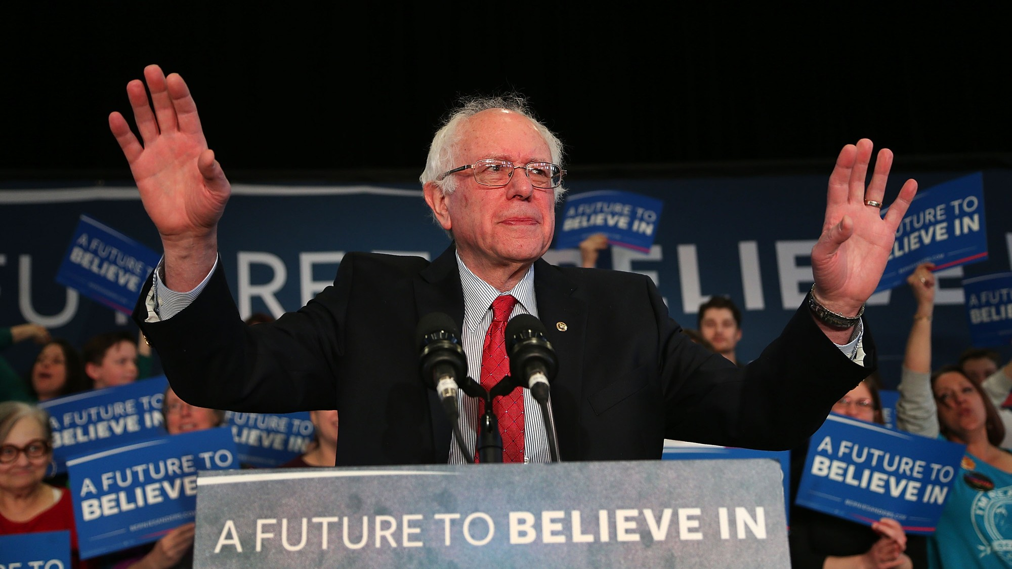 Bernie Talks Like a Jewish Man from Brooklyn and You Need to Get Over It