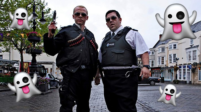 Amazon Is Reuniting Simon Pegg and Nick Frost for a Show About Ghost Hunters