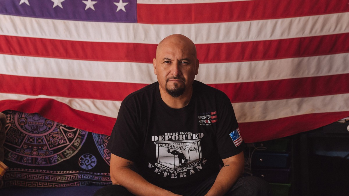 Hector Barajas Served in the American Military. He Was Deported Just the Same.