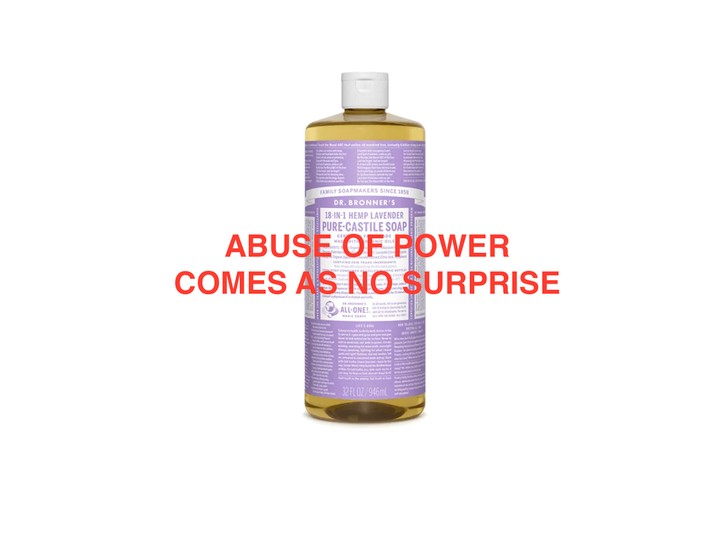 Pop Quiz: Who Said It, Jenny Holzer or Dr. Bronner's Soap? - GARAGE