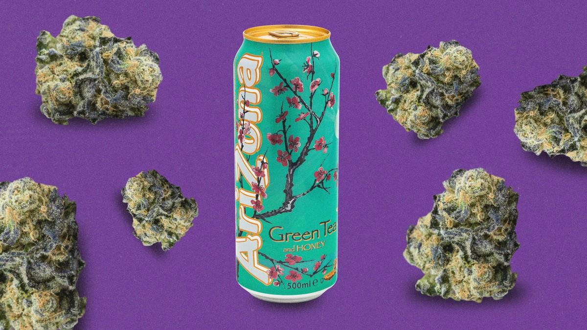 L' Arizona Iced Tea se tourne vers la weed et ce n'est qu'un début