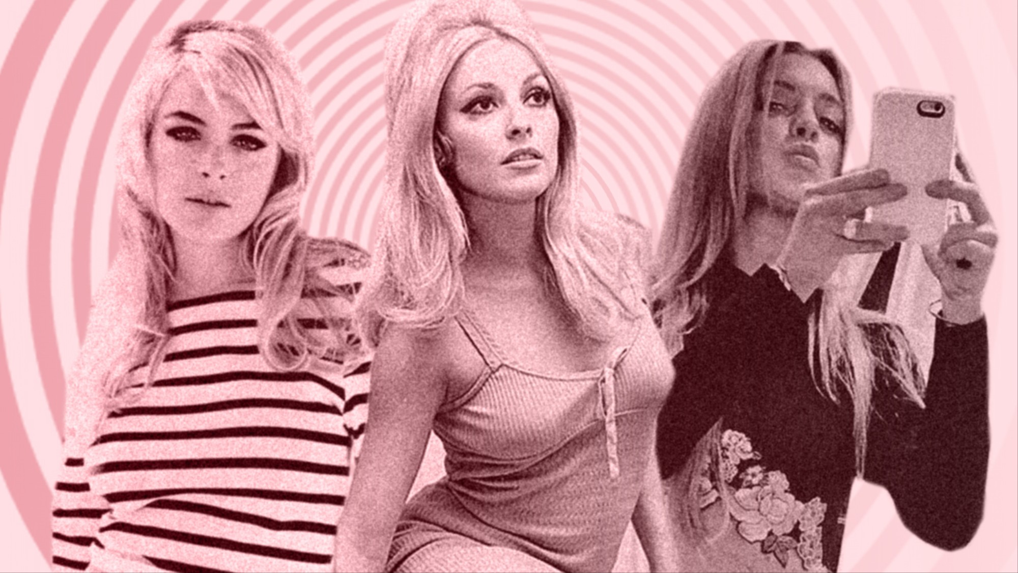 that time that lindsay lohan dressed up as sharon tate on