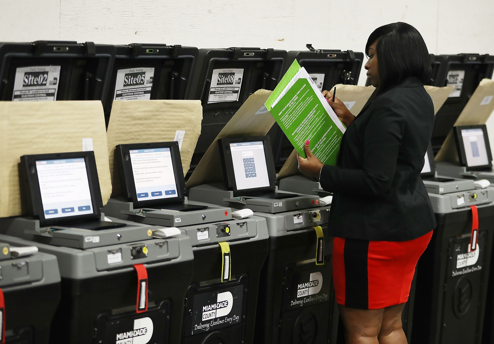 voting machines easily compromised
