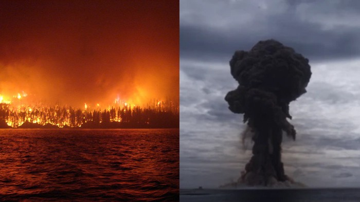 Les feux de forêt sont maintenant si graves qu'ils permettent d'étudier la guerre nucléaire